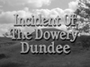 Incident of the Dowery Dundee