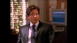 West Wing - When Ainsley Hayes meets the President Bartlett