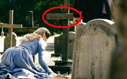 Dolores at her grave
