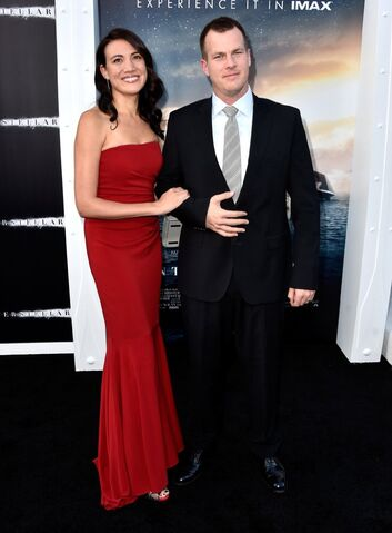 File:Jonathan Nolan and Lisa Joy at Interstellar in 2014.jpg