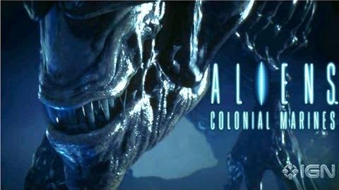 Exclusive Aliens Colonial Marines Cinematic Trailer