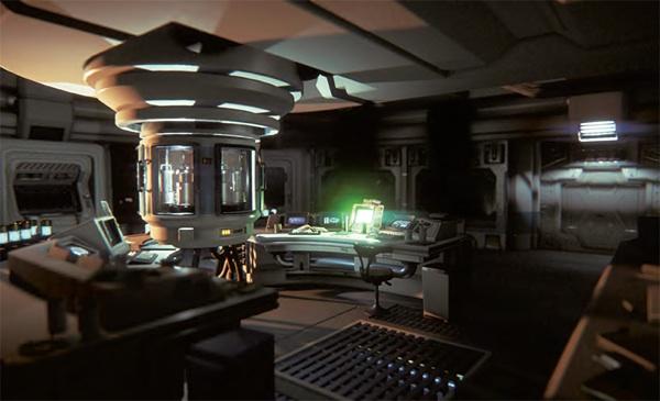 Room alien isolation
