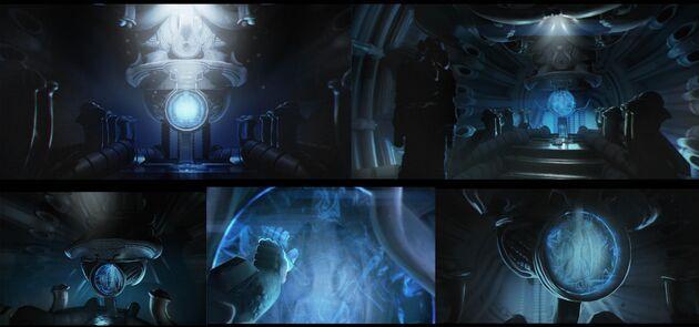 Alien Isolation Orrery Derelict