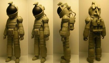 Spacesuit action figures