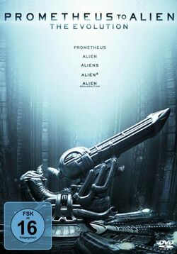 Prometheus to Alien-The Evolution-DVD