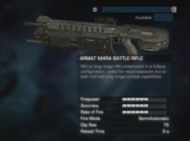 M4RA Battle Rifle