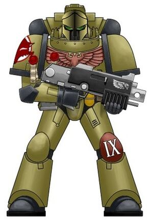 Spacemarine f
