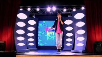 """Violetta - The students sing """"Destined to Shine""""."""