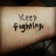 Dont stop fighting