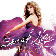 Taylor Swift - Speak Now cover