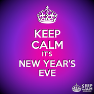 KEEP CALM new year