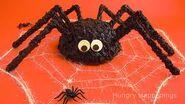 Halloween spider cake