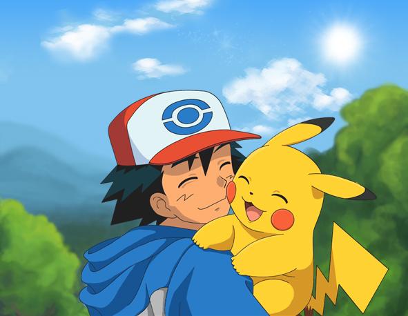 File:Pikachu and ash by zyari-d5wo2um.jpg
