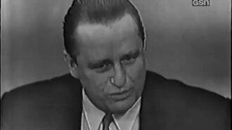 What's My Line? - Arlene Francis's first show! - Elliott Roosevelt (Feb 16, 1950)