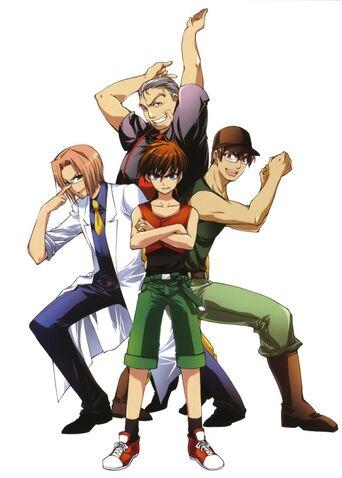 Soul brothers manga