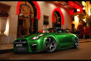 Nissan GT R WTB 10 by MurilloDesign