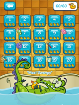 Meet Swampy level page