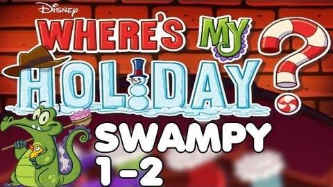 Where's My Holiday? - Level 1-2 - Swampy Walkthrough