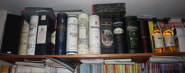 File:Whisky collection - part IMG 1132.jpg