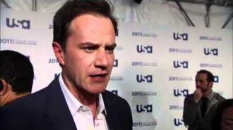 Tim DeKay talks White Collar at USA Upfronts