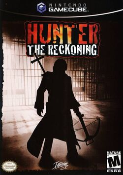 Hunter The Reckoning - videogame cover gc usa