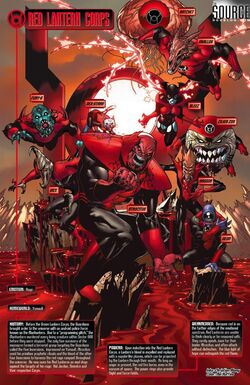 Red Lantern Corps 01