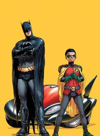 The new Batman and Robin