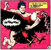 Black Condor kills an eagle