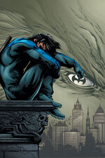 Nightwing crying