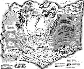 Wicked map