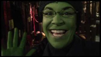 """Fly Girl Backstage at """"Wicked"""" with Lindsay Mendez, Episode 7 Bryant Park Fun"""