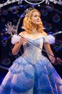 Glinda wicked london 2014