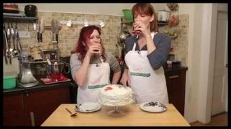 Broadway Nosh Baking a WILD and WICKED Cake with Julia Murney & Kirsten Wyatt