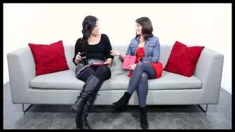 """Double """"Wicked"""" Ask a Star! Lindsay Mendez & Alli Mauzey Share Their Favorite Treats, Roles & More"""