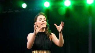 Rachel Tucker - Wizard and I - Oliviers 2012