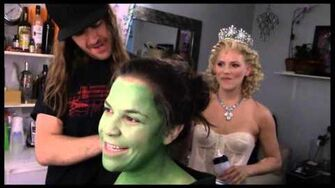 """Fly Girl Backstage at """"Wicked"""" with Lindsay Mendez, Episode 1 'Greenifying' with the Fam-0"""
