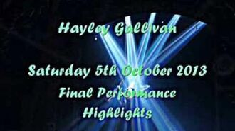 Hayley Gallivan - Final Elphaba Performance Highlights