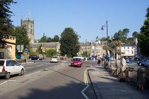 Tavistock town centre