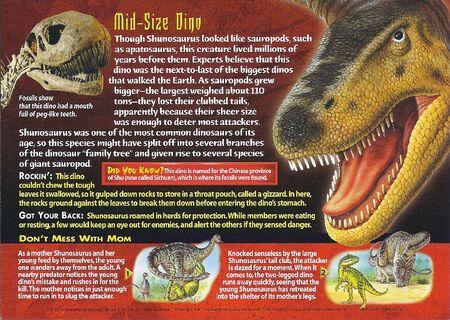 Shunosaurus back