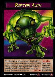 Reptoid Alien