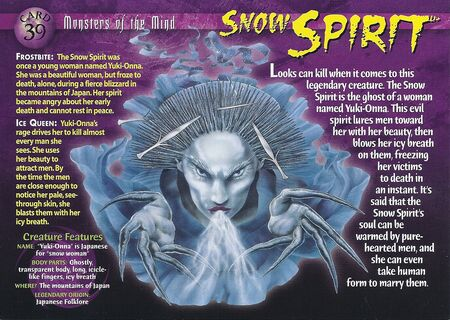 Snow Spirit front