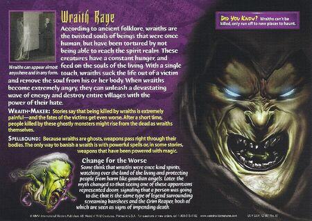 Wraths back