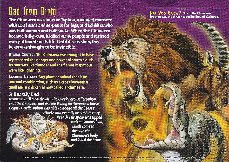 image chimaera back jpg wierd n u0027wild creatures wiki fandom