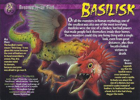 Basilisk front