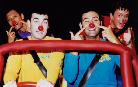 File:TheWigglesWearingRedNosesintheBigRedCar.jpg