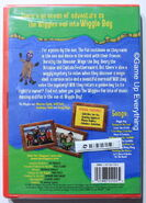 The Wiggles Wiggle Bay 2005 Re-release USA DVD (Back)