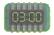 KEY Digital Clock sprite
