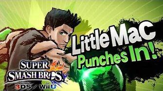 Super Smash Bros Wii U 3DS - Little Mac Reveal Trailer 1080p TRUE-HD QUALITY