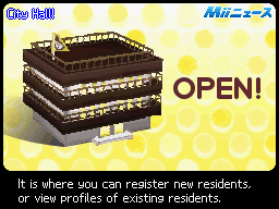 Town Hall Open
