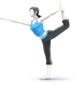 SSB4 - Wii Fit Trainer Artwork